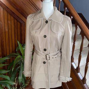 GUESS Los Angeles 1981 khaki trench coat